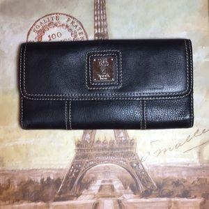Women's Tignanello Trifold Leather Wallet NWOT